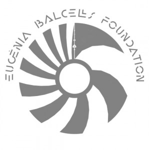 Logo Eugenia Balcells Foundation gray